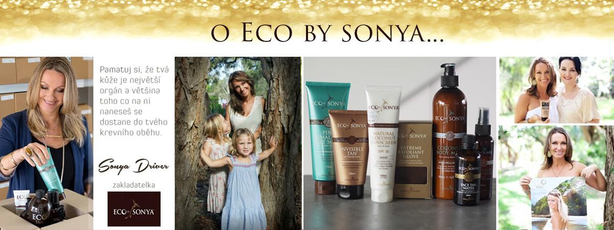 Samoopalovací krém a produkty Eco by Sonya