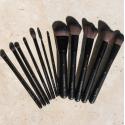 Luxusní kolekce make-up štětců - Veganské, Ekologické