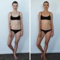 Opálení před a po Somoopalovací voda na tělo a obličej