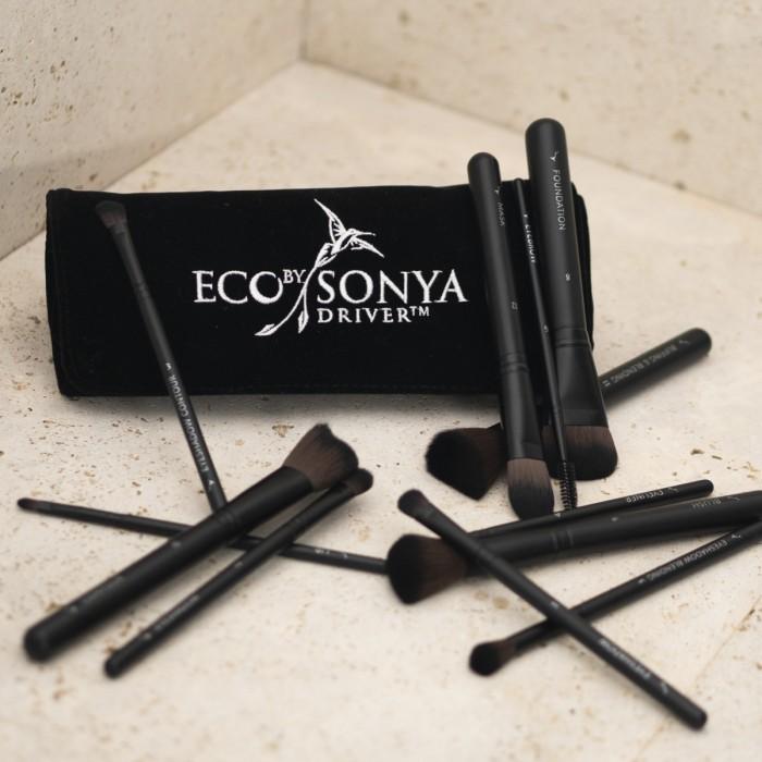 Luxusní kolekce make-up štětců Eco by Sonya